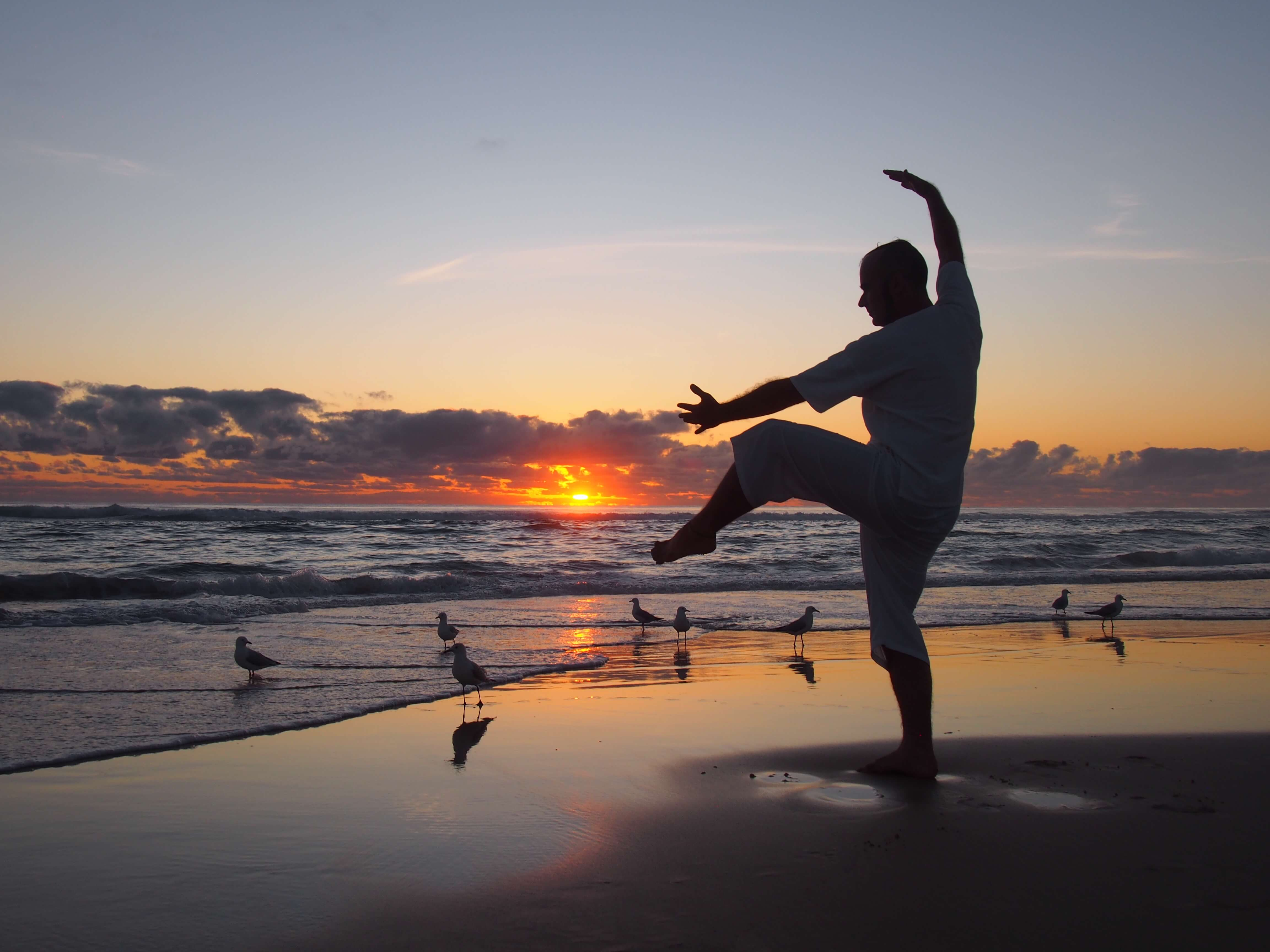 Calligraphy yoga for health pure nature